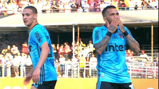 Análise: São Paulo fica mais cascudo com Daniel Alves e ganha força na briga pelo título brasileiro