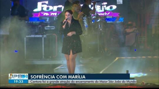 JPB2JP: Wesley Safadão e Marília Mendonça encerraram o São João de Campina Grande