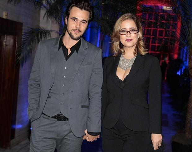 Paloma Duarte e Bruno Ferrari (Foto: Léo Franco/Agnews)