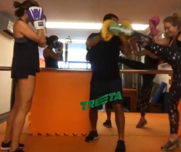 Grazi Massafera, Chico Salgado e Angélica (Foto: Reprodução/Instagram)