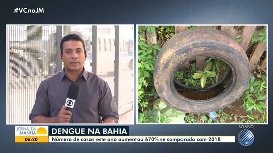 Ministério da Saúde faz alerta para crescimento dos casos de dengue na Bahia