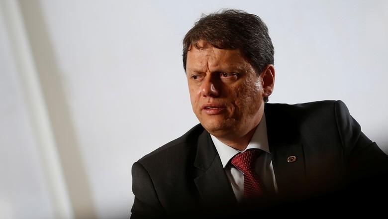 Tarcísio de Freitas, ministro da Infraestrutura  (Foto: REUTERS/Adriano Machado)