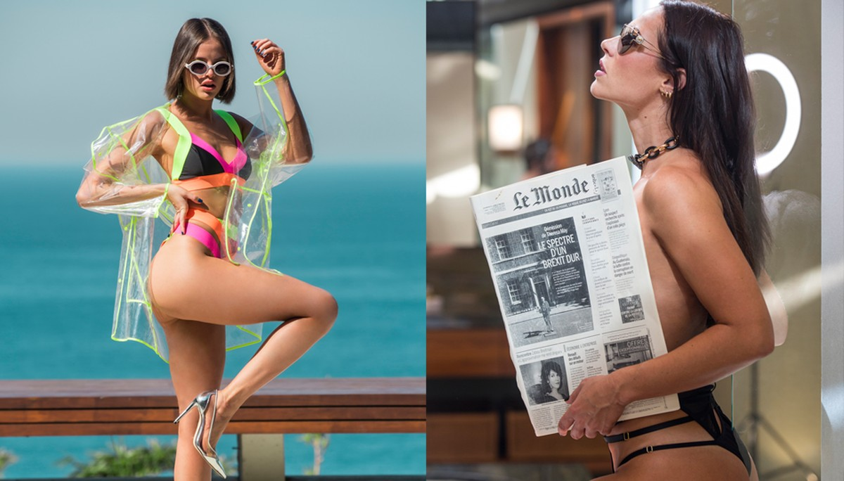 Andreia Beltrao Nua vivi guedes e jô arrasam em fotos de biquíni. confira o ensaio!