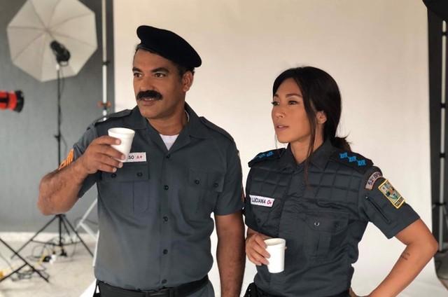 Marcelo Mello e Dani Suzuki (Foto: Arquivo pessoal)