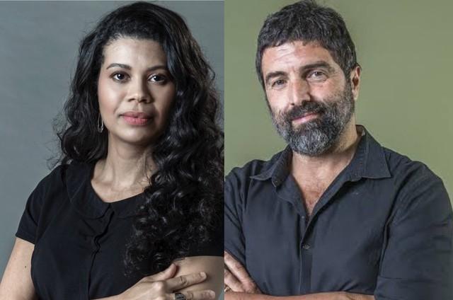 Ana Paula Maia e Carlos Manga Jr. (Foto: Divulgação)