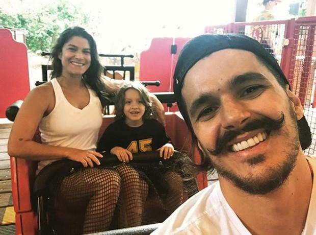 Priscila Fantin, Romeo e Bruno Lopes (Foto: Reprodução/Instagram)