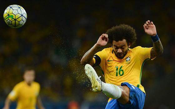Marcelo, titular absoluto do Real Madrid e da seleção brasileira, provável melhor lateral da Copa do Mundo de 2018 (Foto: Getty Images)