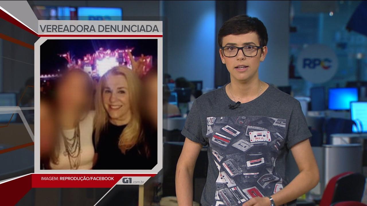 VÍDEOS: G1 em 1 Minuto Paraná, apresentado por Letícia Paris