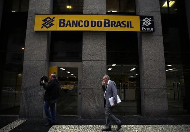 Agência do Banco do Brasil, no centro do Rio de Janeiro  (Foto: Pilar Olivares/Reuters)