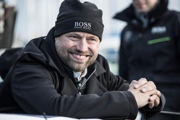 Alex Thomson, o velejador britânico que é uma das sensações da modalidade (Foto: Divulgação)