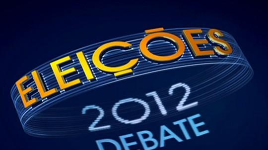 Debate Eleições 2012 - Rio de Janeiro - Quarto bloco