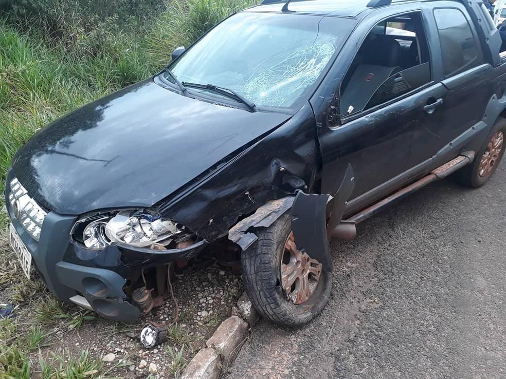Motorista foi preso por embriaguez ao volante e porte ilegal de arma de fogo  — Foto: Carlos Mont Serrat/Rota Policial News