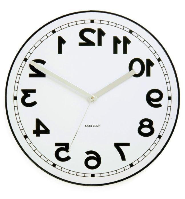 Relógio invertido (Foto: Arquivo Google)