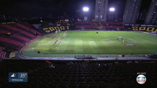 Jogo entre Sport e Vitória interdita rua do Recife e tem esquema de segurança com 373 PMs
