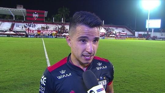 Matheus afirma que cobrança após tropeço deu resultado e exalta vitória do Atlético-GO