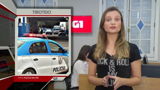 Destaque da noite: Aulas são suspensas após tiroteio em escola de Guarus, em Campos