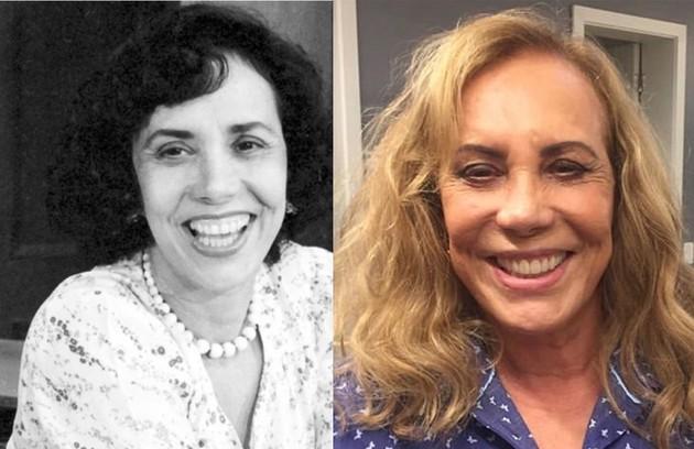Arlete Salles deu vida a Carmosina, mulher que sabia tudo sobre a vida dos moradores da cidade. O trabalho mais recente da atriz foi na série 'Eu, a Vó e a Boi', do Globoplay (Foto: TV Globo)