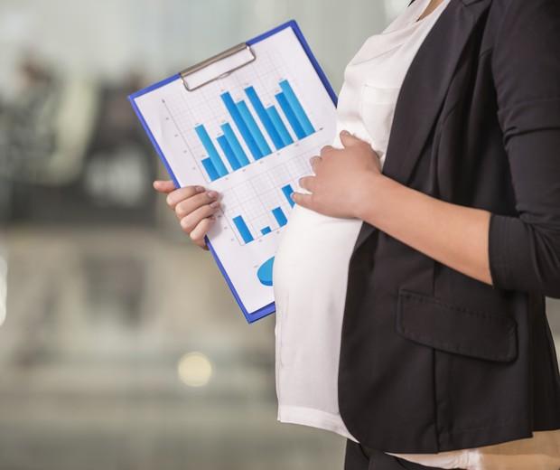 gravida e trabalho (Foto: ThinkStock)