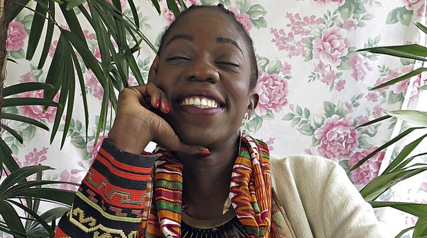 """Como bolsista no exterior, Sauanne estudou a cultura negra. """"Lembro de olhar maravilhada e pensar: as pessoas precisam ver isso"""", diz (Foto: Kátia Lessa)"""