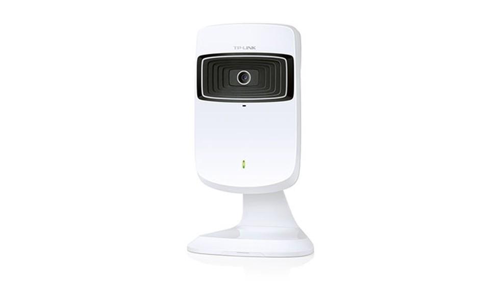 Câmera de segurança NC200, da TP-Link, já vem com repetidor Wi-FI integrado — Foto: Divulgação/TP-Link