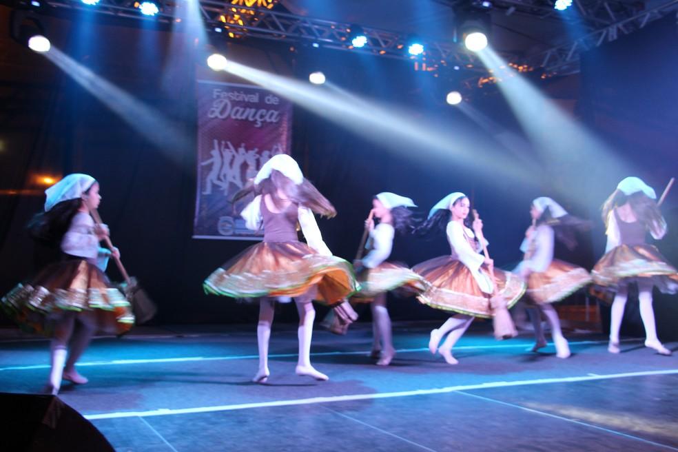 Entre as atrações está o Festival de Dança de Porciúncula — Foto: Divulgação/Prefeitura de Porciúncula