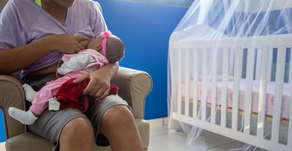 Número de mães com idade entre 30 e 39 anos também aumentou — Foto: Haillyn Heiviny/Gcom-MT