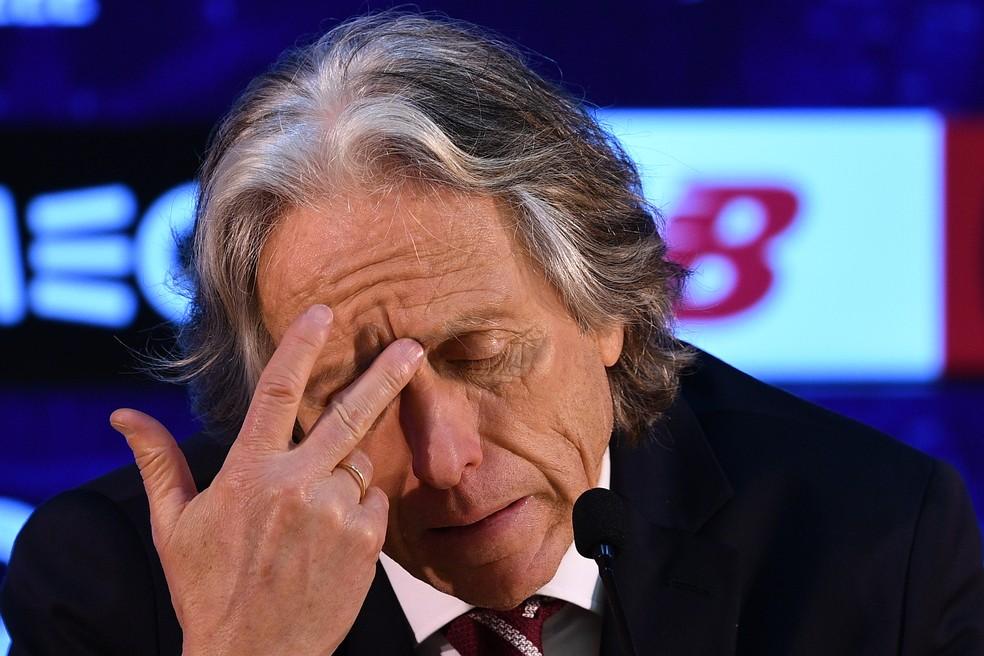 Benfica de Jorge Jesus foi eliminado na semifinal da Taça de Portugal — Foto: Getty Images