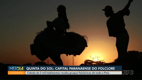 Quinta do Sol promove festival de folclore