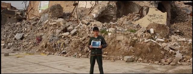 Usando o jogo Minecraft, estudantes de todo o mundo podem recriar em sala de aula monumentos destruídos no Oriente Médio  (Foto: Divulgação)