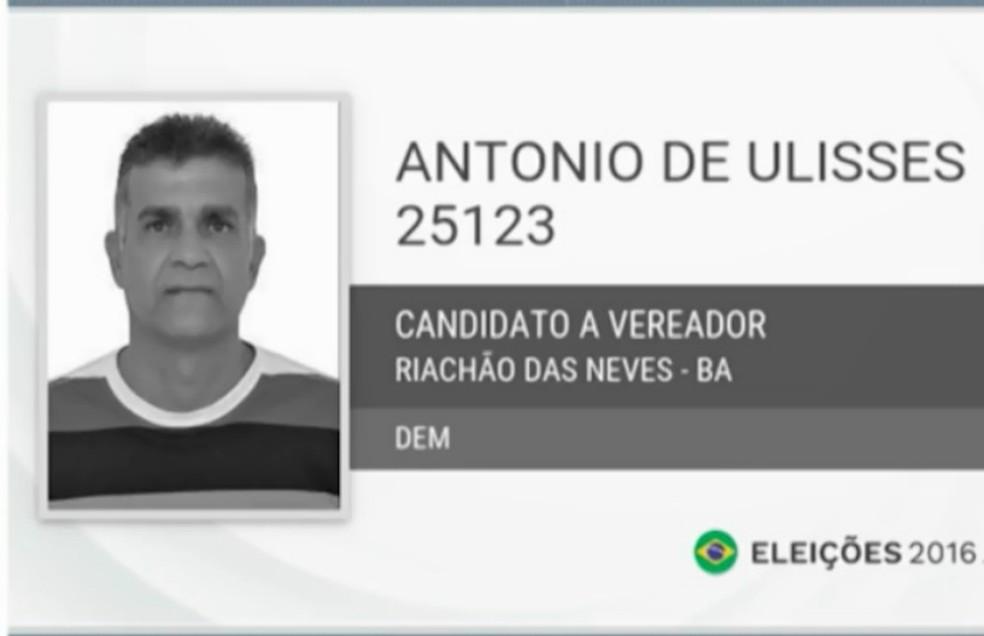 Presidente da Câmara de Vereadores de Riachão das Neves é preso suspeito por pedofilia (Foto: TV Bahia)