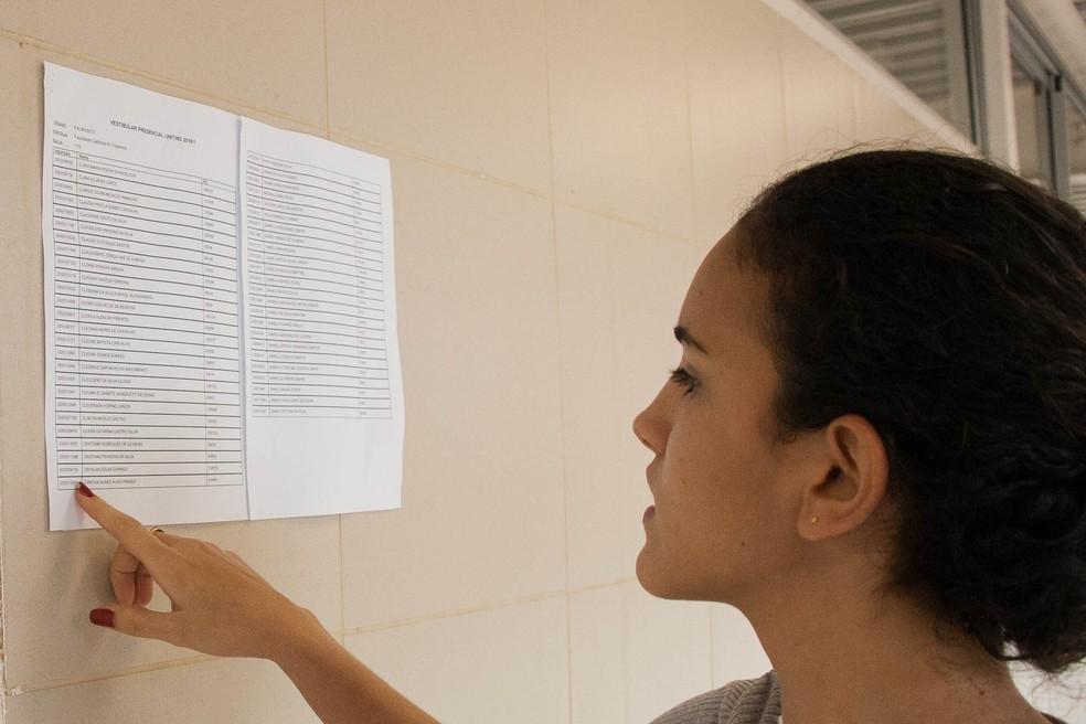 Inscritos no vestibular da Unitins podem consultar locais de prova — Foto: Cristian Reurison/Ascom Unitins