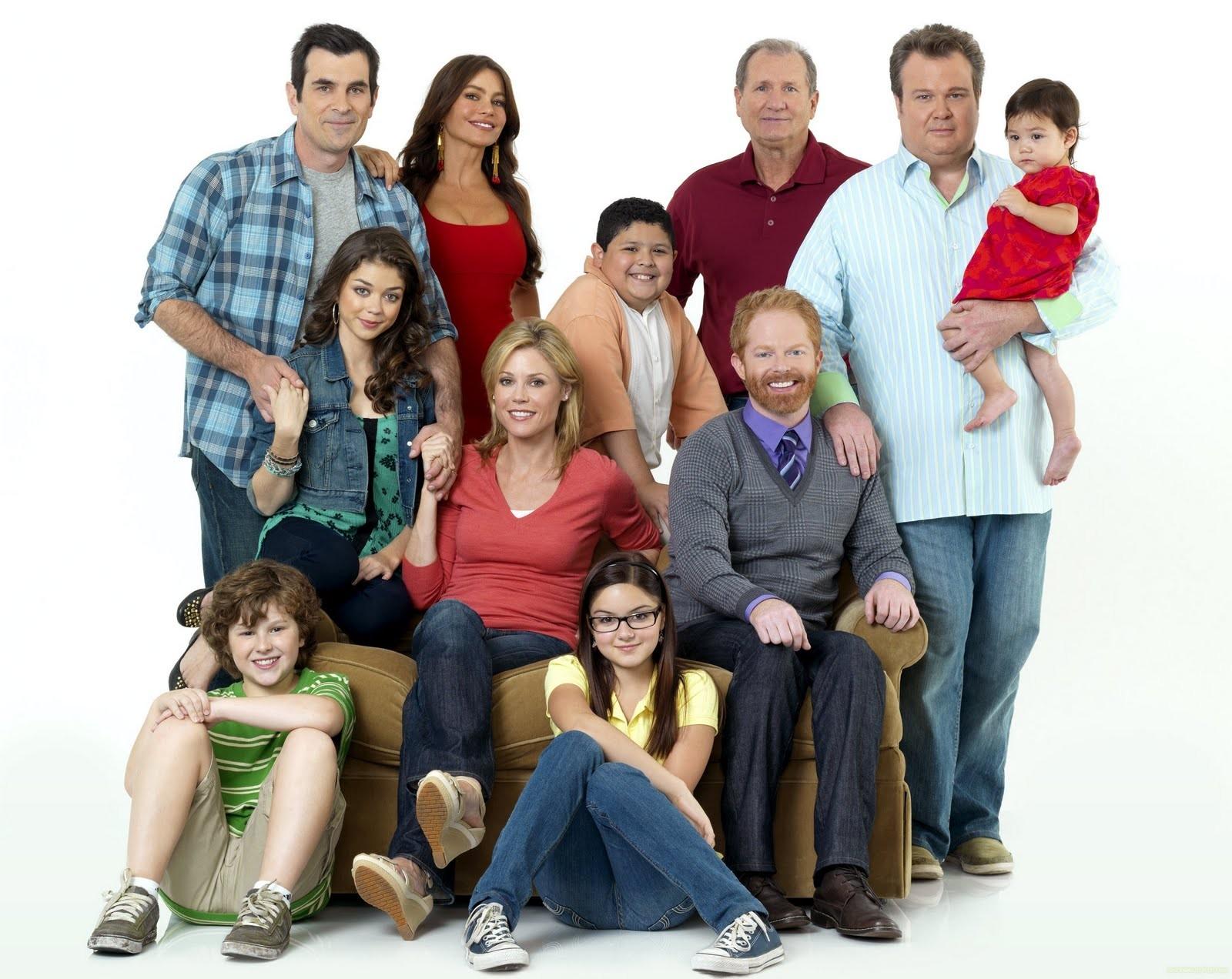 O elenco da série Modern Family (Foto: Divulgação)