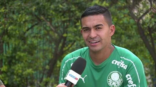 """Dudu ainda acredita em título do Palmeiras e defende Mattos de críticas: """"A gente fica triste"""""""