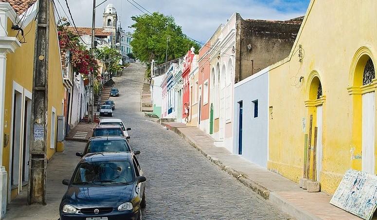 Ladeira da Misericórdia, no Rio de Janeiro (Foto: Wikimedia Commons)