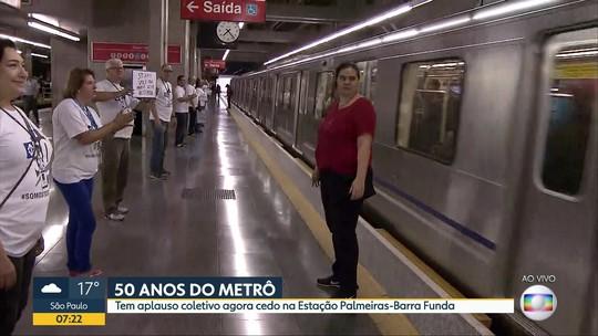 Companhia do Metrô de São Paulo completa 50 anos