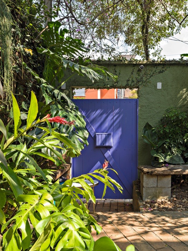 Sobrado de Esteban Walther - Com um jeito lá de casa  (Foto: Christian Maldonado / Editora Globo)