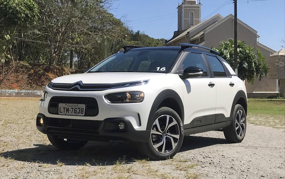 Citroën C4 Cactus produzido no Brasil será exportado para a África — Foto: André Paixão/G1