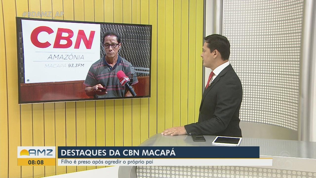 Filho é preso em flagrante em Macapá após agredir pai idoso que pediu fim de 'bebedeira'