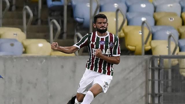 Jadson fez dois na goleada contra o Paraná