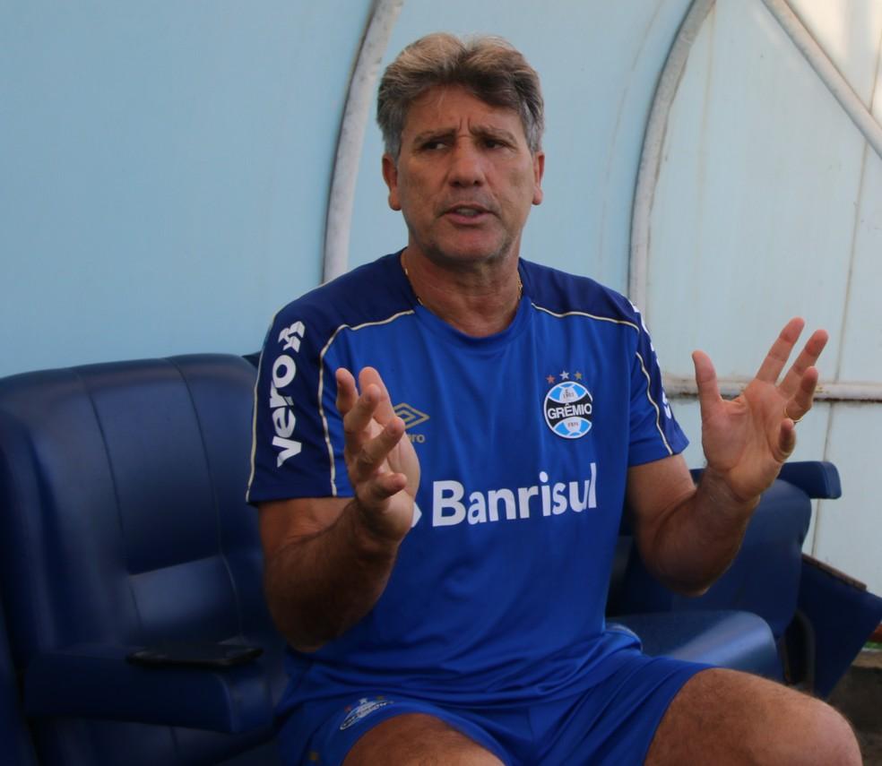Renato é o ídolo máximo do Grêmio — Foto: Tomás Hammes
