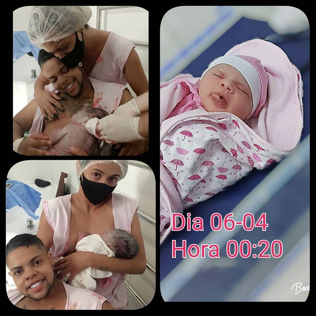 Homem trans dá à luz a menina em MG (Foto: reprodução/instagram)