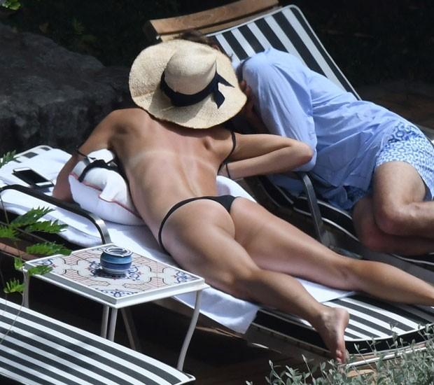Maria Sharapova e Alexander Gilkes (Foto: Backgrid)