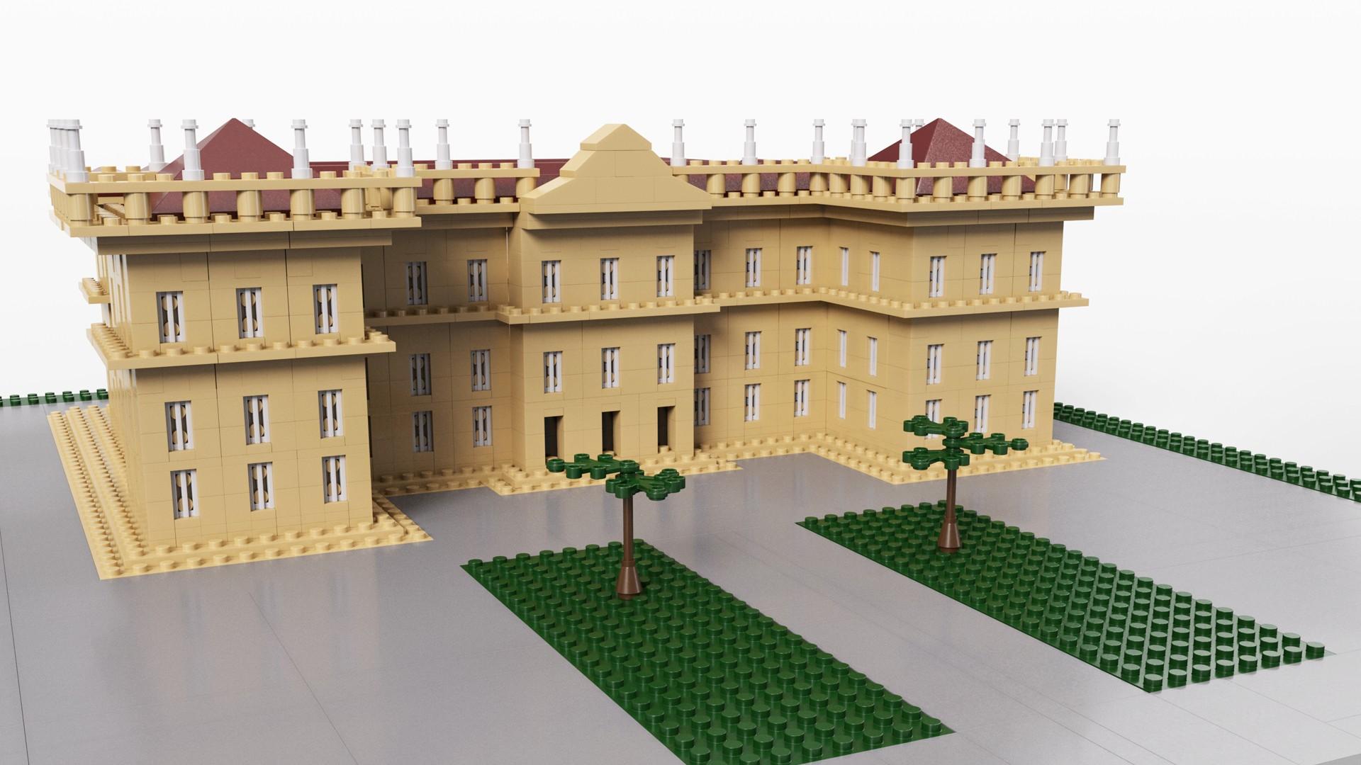Museu Nacional LEGO (Foto: Divulgação)