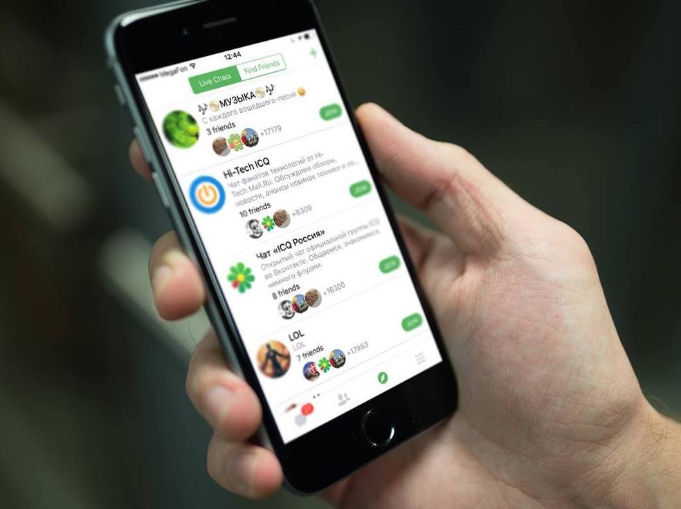 WhatsApp ou ICQ? Descubra qual o melhor app de mensagens para você — Foto: Divulgação/ICQ
