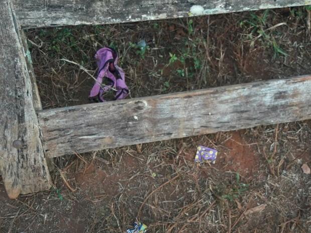 Mulher é encontrada morta com sinais de estupro em Itaguari, Goiás (Foto: Antônio Neto/Arquivo Pessoal)