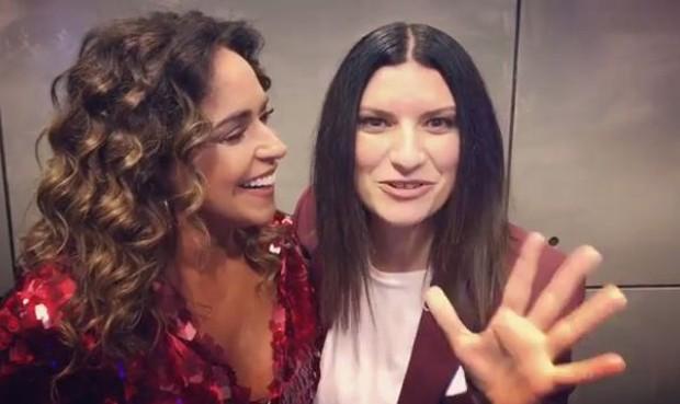 Daniela Mercury e Laura Pausini (Foto: Reprodução/Instagram)