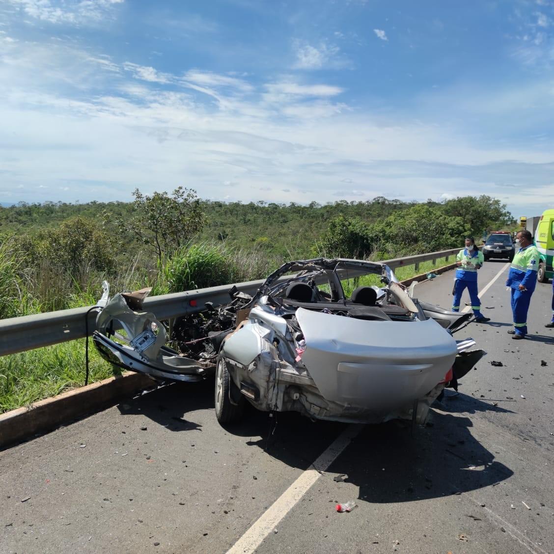 Corpos das cinco vítimas do acidente da BR-135 são liberados do IML, em Montes Claros
