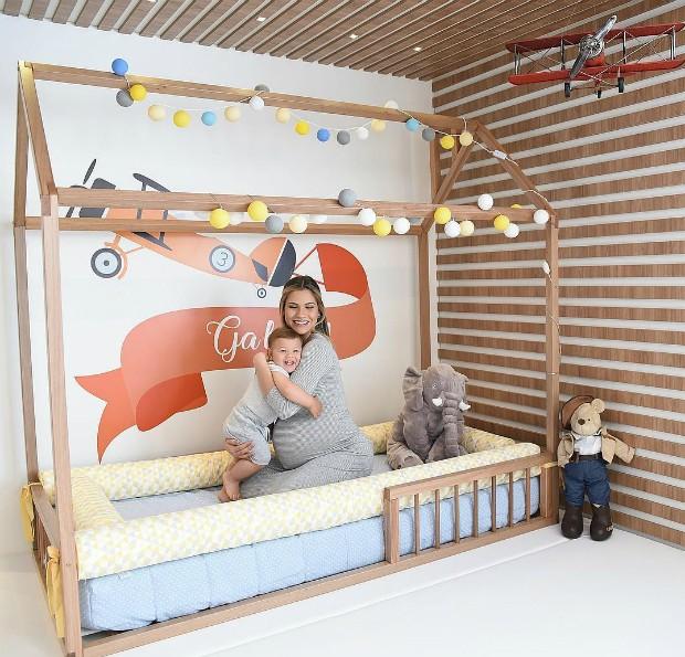 Andressa Suíta mostra quarto de Gabriel (Foto: Instagram / Reprodução)