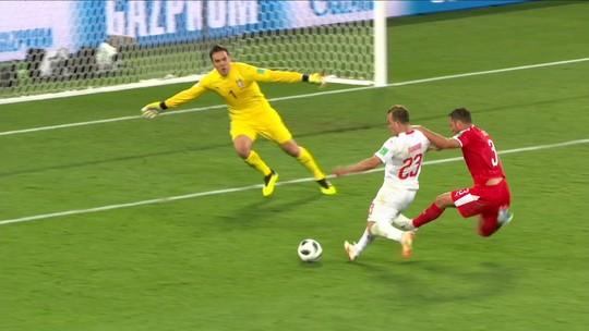 Assista aos gols de Suíça 2 x 1 Sérvia