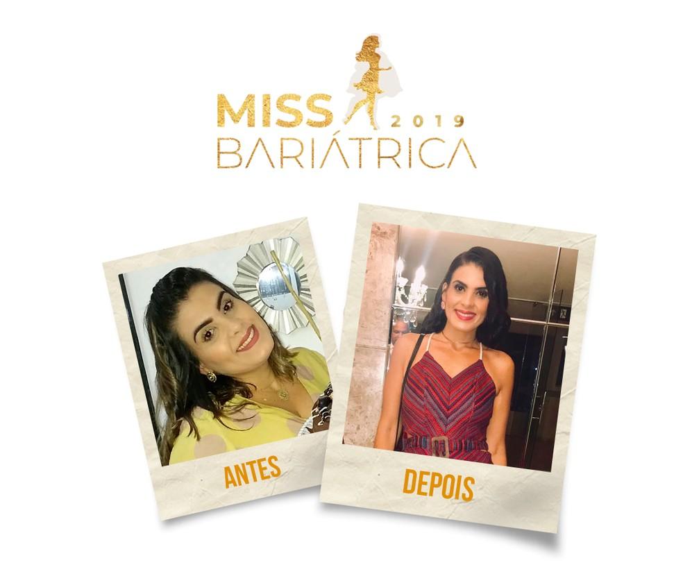 Natalia Suelid, 34 anos, finalista do Miss Bariátrica — Foto: Divulgação